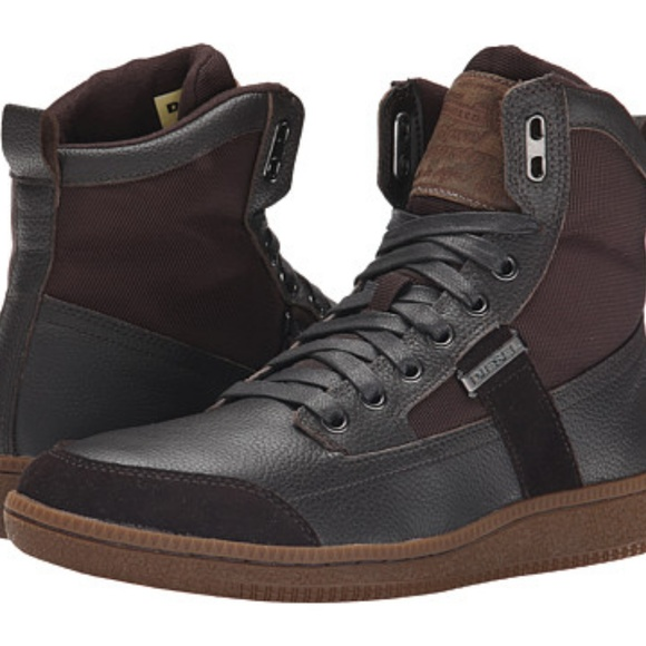 ff2096f6a61db Diesel Shoes | Voyager High Top Sneaker | Poshmark